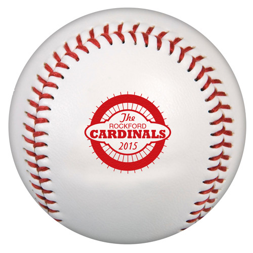 Custom Printed Baseball - Cardinals