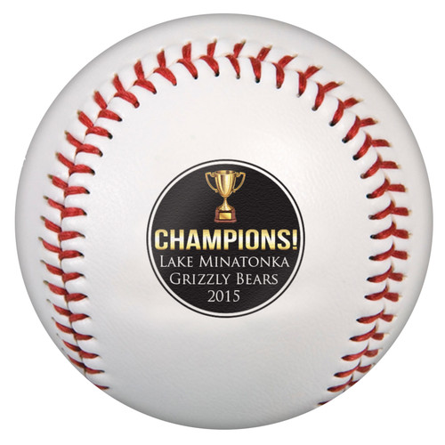 Custom Printed Baseball - Champion