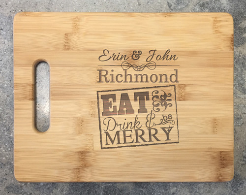 Cutting Board - Eat & Drink
