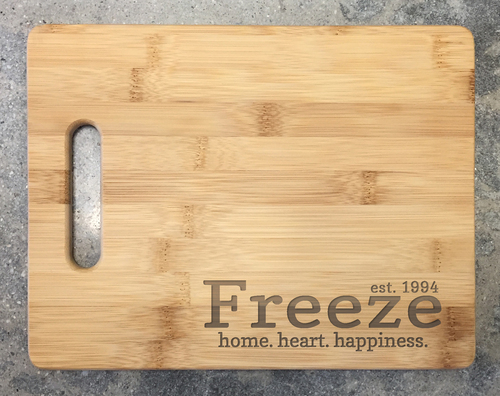 Cutting Board - Freeze