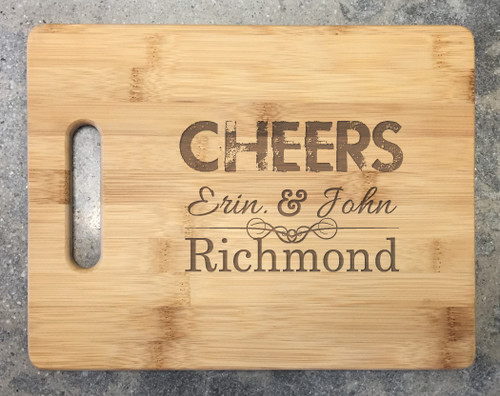 Cutting Board - Cheers