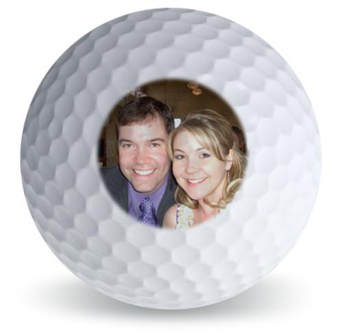 Custom Printed Golf Ball - Single Side Printed