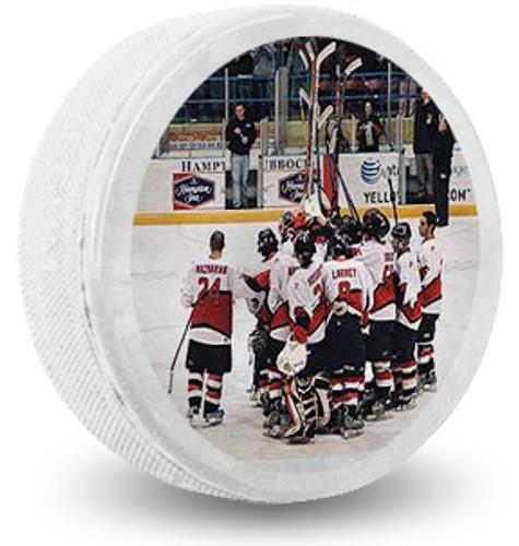 Copy of Custom Printed Hockey Puck - White