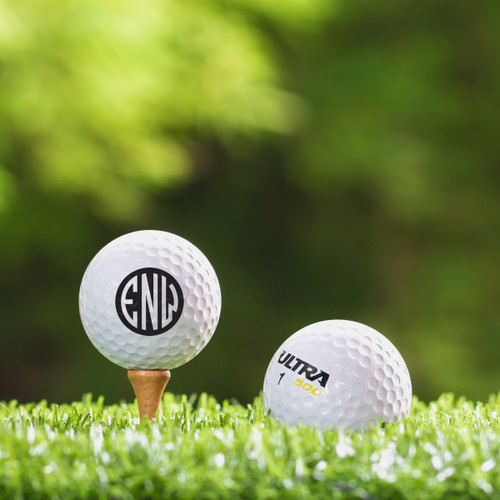 Wilson Ultra Custom Printed Golf Ball - Initial Style 1
