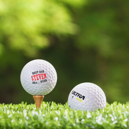 Wilson Ultra Custom Printed Golf Ball - Best Dad