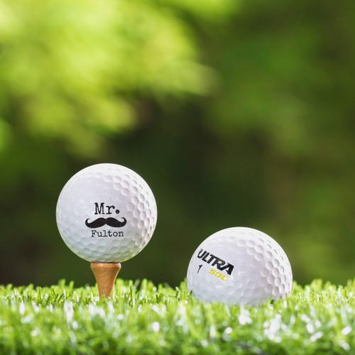 Wilson Ultra Custom Printed Golf Ball - Mister