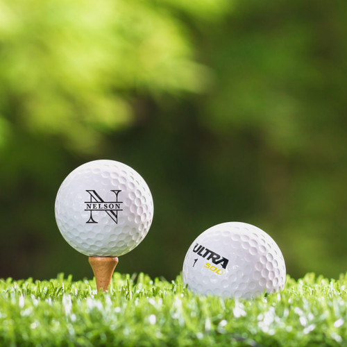 Wilson Ultra  Custom Printed Golf Ball - Nelson
