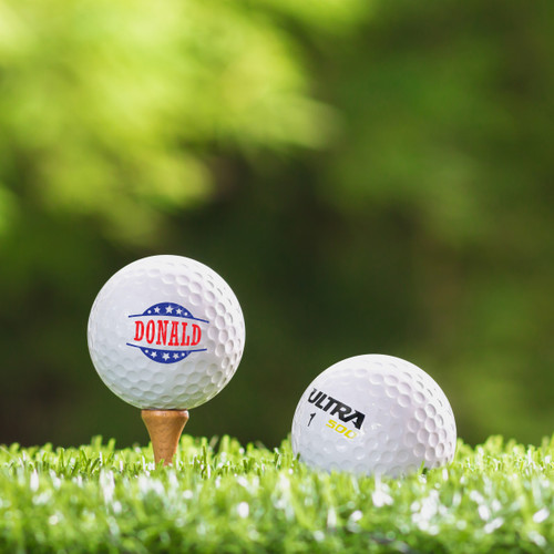 Wilson Ultra Custom Printed Golf Ball - Donald