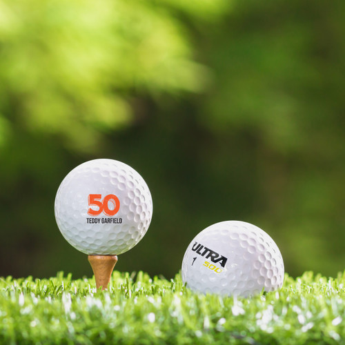 Wilson Ultra Custom Printed Golf Ball - Garfield