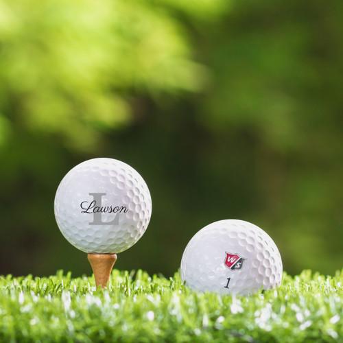 TaylorMade Rocketballz Speed Custom Printed Golf Ball - Lawson