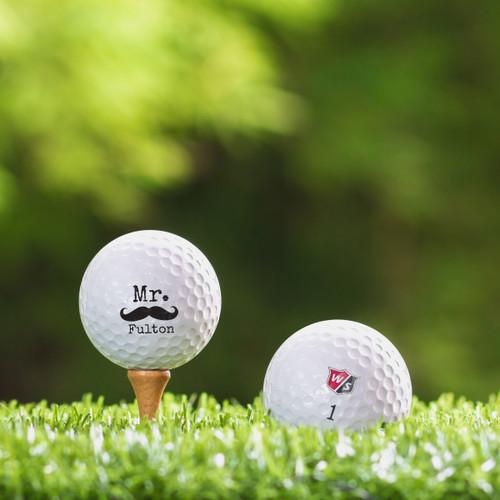 TaylorMade Rocketballz Speed Custom Printed Golf Ball - Mister