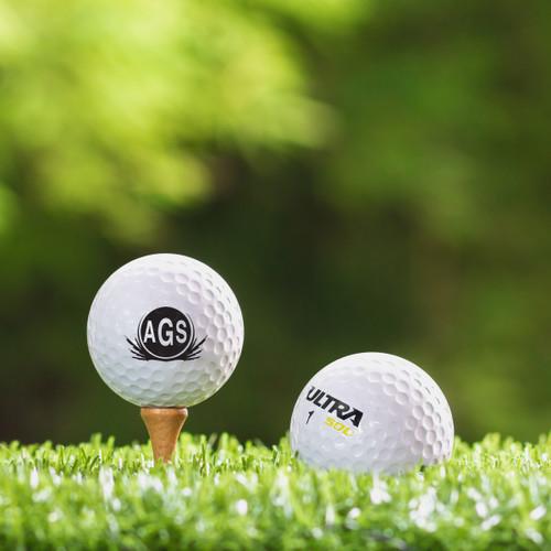 Callaway Hex Diabolo  Custom Printed Golf Ball - Initial Style 3