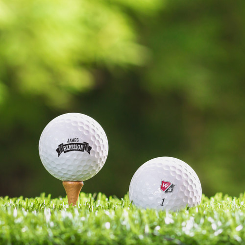 TaylorMade Rocketballz Speed Custom Printed Golf Ball - Harrison