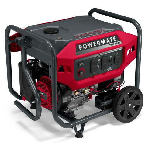 Powermate PM9400E 9400W Electric Start Portable Generator
