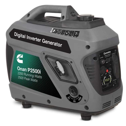 Cummins Onan P2500i 2200W Portable Inverter Generator
