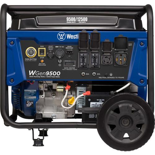Westinghouse WGen9500DF 9500W Dual Fuel Electric Start Portable Generator with Wireless Remote Start