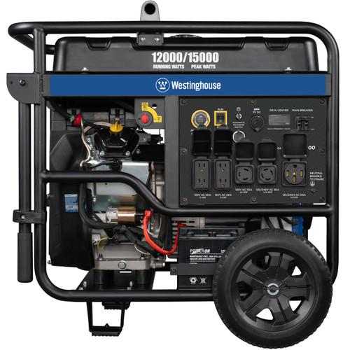 Westinghouse WGen12000DF 12000W Dual Fuel Electric Start Portable Generator with Wireless Remote Start