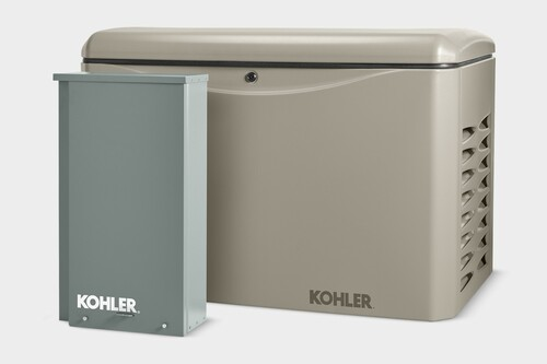 Kohler 14RCAL-100LC16 14kW Generator with 100A 16-circuit Transfer Switch