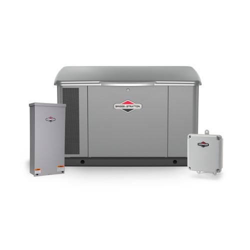 Briggs & Stratton 40645 20kW Generator with Aluminum Enclosure & 100A SE Transfer Switch Bundle