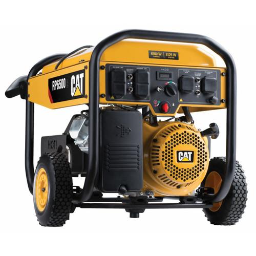 CAT RP6500E 6500W Electric Start Portable Generator (CARB Compliant)