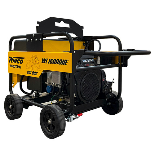 WINCO WL16000HE-03/A 14000W Electric Start Portable Generator Package