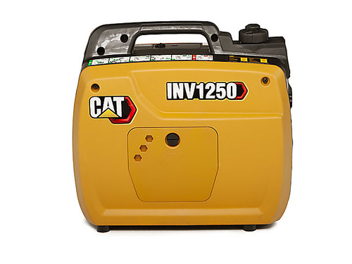 CAT INV1250 1000W Portable Inverter Generator with Cat CO DEFENSE