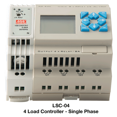PSP LSC-04 4 Channel Universal Stand Alone Load Shedding Controller