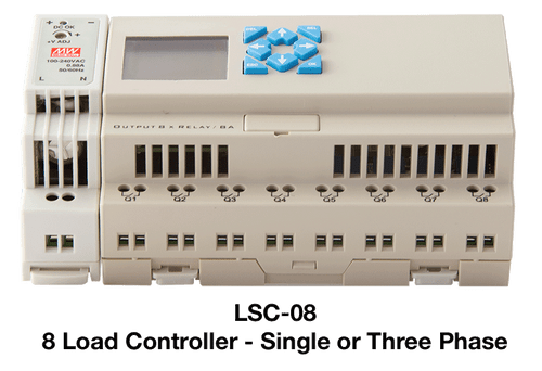 PSP LSC-08 8 Channel Universal Stand Alone Load Shedding Controller