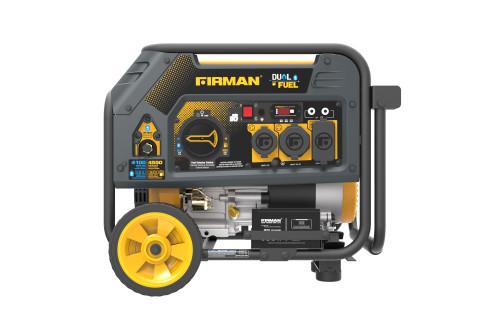 Firman H03651 3650W Electric Start Dual Fuel Portable Generator