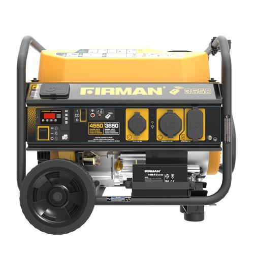 Firman P03603 3650W Remote Start Portable Generator with Wheel Kit