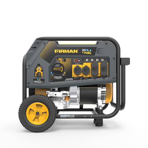 Firman H05752 5700W Dual Fuel Portable Generator
