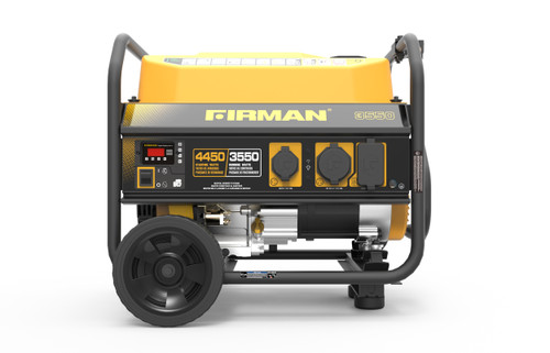 Firman P03501 3550W Portable Generator with Wheel Kit & Cover