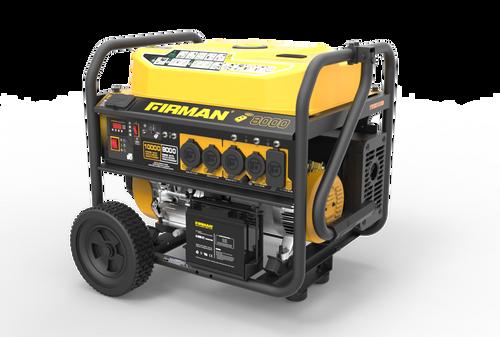 Firman P08003 8000W Remote Start Portable Generator