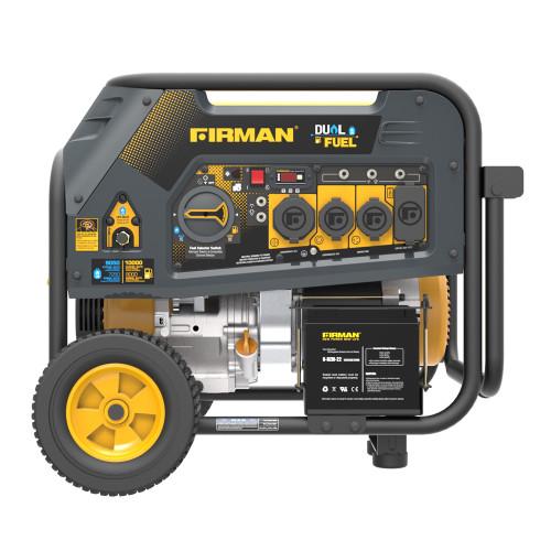 Firman H08051 8000W Electric Start Dual Fuel Portable Generator