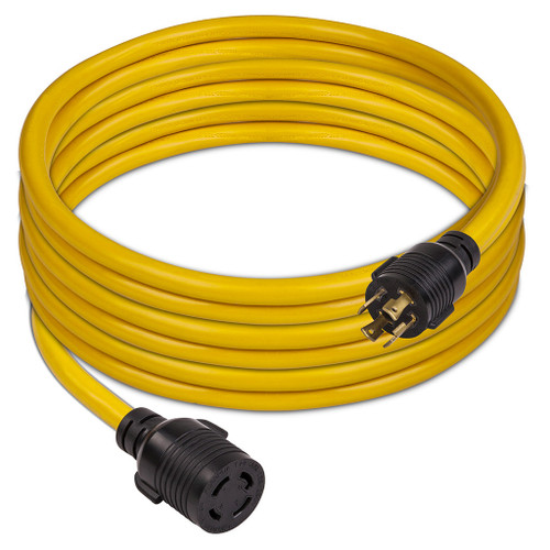 Firman 1130 25ft 30A L14-30P to L14-30 Power Cord with Storage Strap