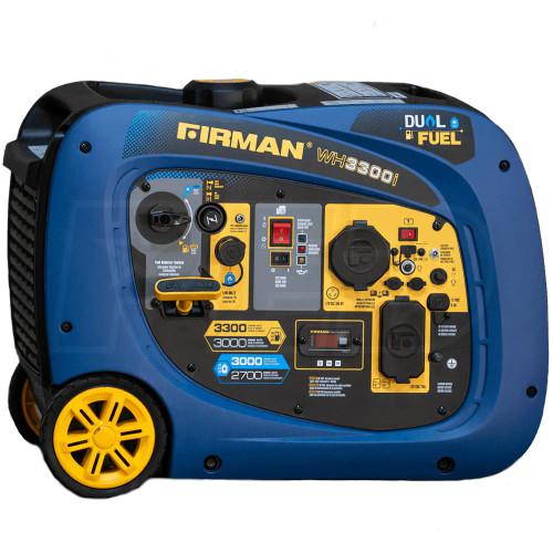 Firman WH03041 2900W Dual Fuel Portable Inverter Generator