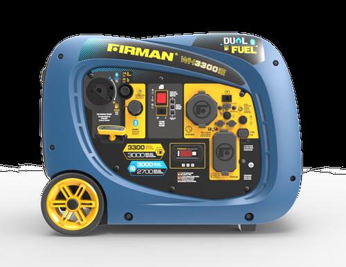 Firman WH03042 2900W Electric Start Dual Fuel Portable Inverter Generator