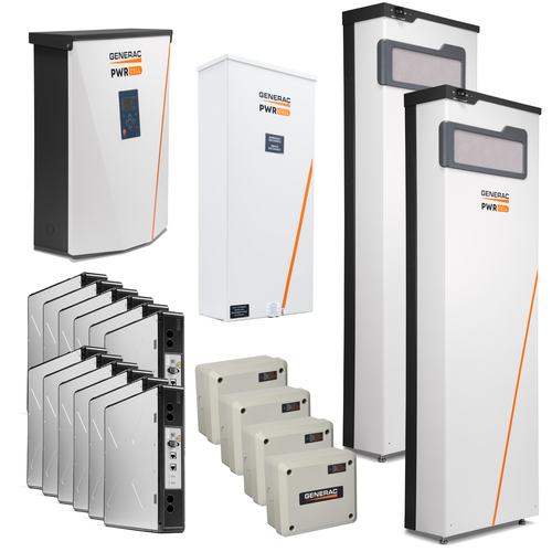 Generac PWRcell 36kWh Managed Whole House Package