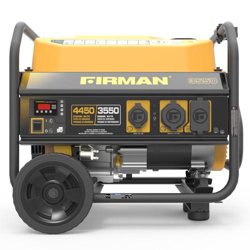 Firman P03602 3650W Portable Generator with Wheel Kit