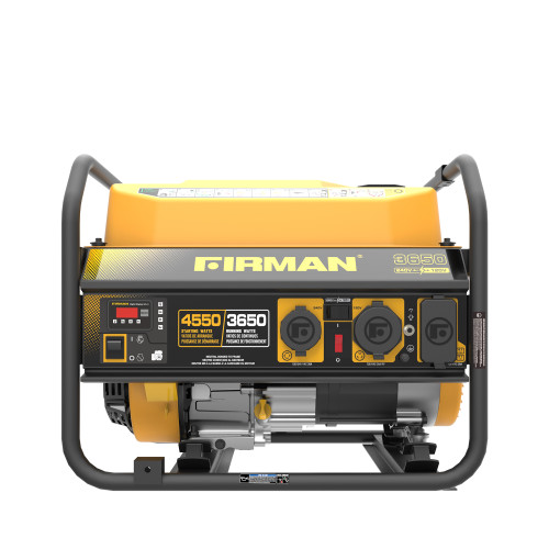 Firman P03605 3650W Portable Generator with 120/240V Voltage Selector