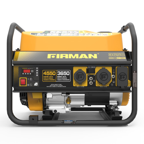 Firman P03606 3650W Portable Generator with 120/240V Voltage Selector