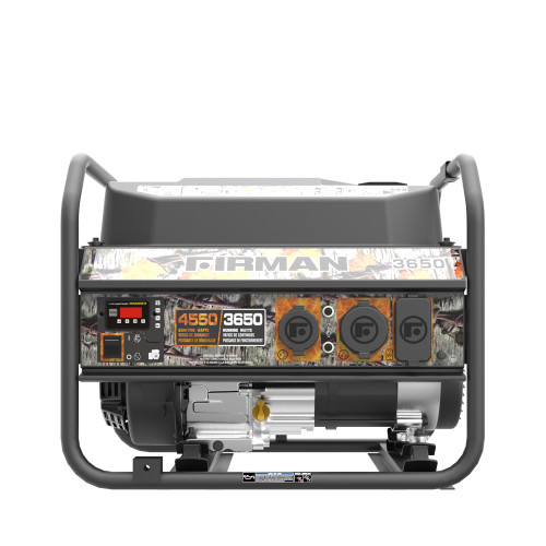 Firman P03609 3650W Portable Generator with Camo Print