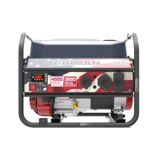 Firman P03611 3650W Portable Generator with Stars & Stripes Print