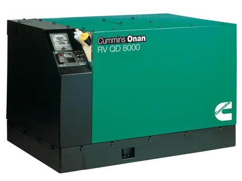 Cummins Onan 8HDKAK-1046 QD 8000W 120V Diesel RV Generator