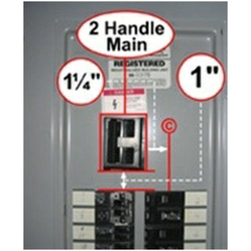 Interlock Kit K-2010 for Thomas & Betts, Challenger & Westinghouse Panels