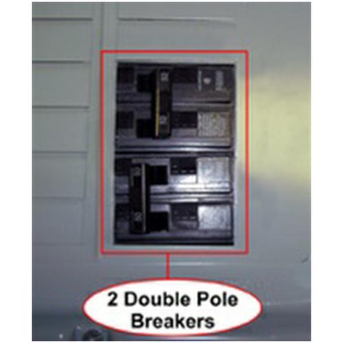 Interlock Kit K-9010 Feed Through Panel for GE, Siemens, Square D Homeline, Cutler Hammer & BR Style Panels