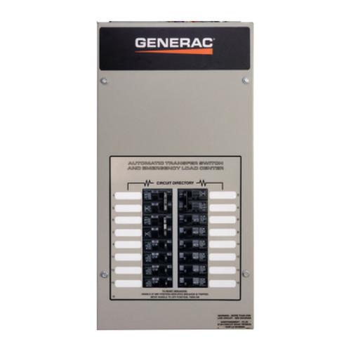 Generac RXG16EZA1 100A 1Ø-120/240V Nema 1 Automatic Transfer Switch with 16-circuit Load Center