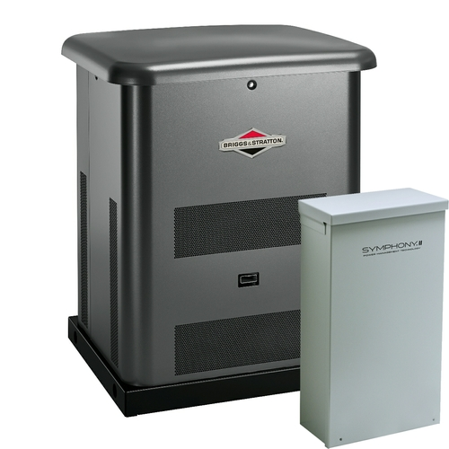 Briggs & Stratton 40531 12kW Generator with 200A SE Transfer Switch