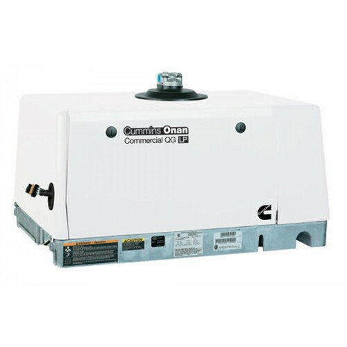 Cummins Onan Commercial Series 6.5HGJAE-3554 QG 6.5kW Propane Mobile Generator (120 Volt Only)