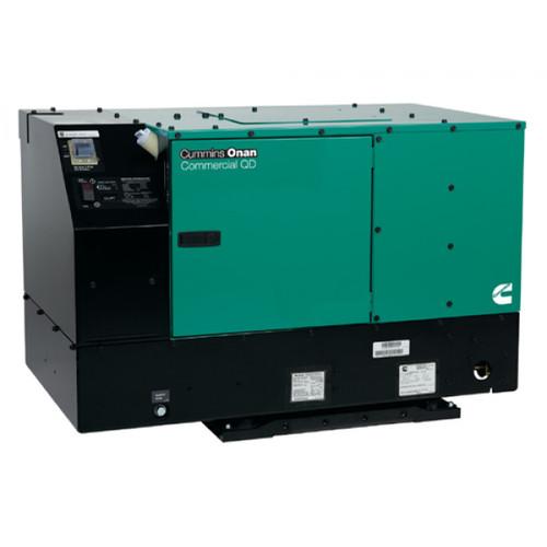 Cummins Onan Commercial Series QD12000 12kW Diesel Mobile Generator